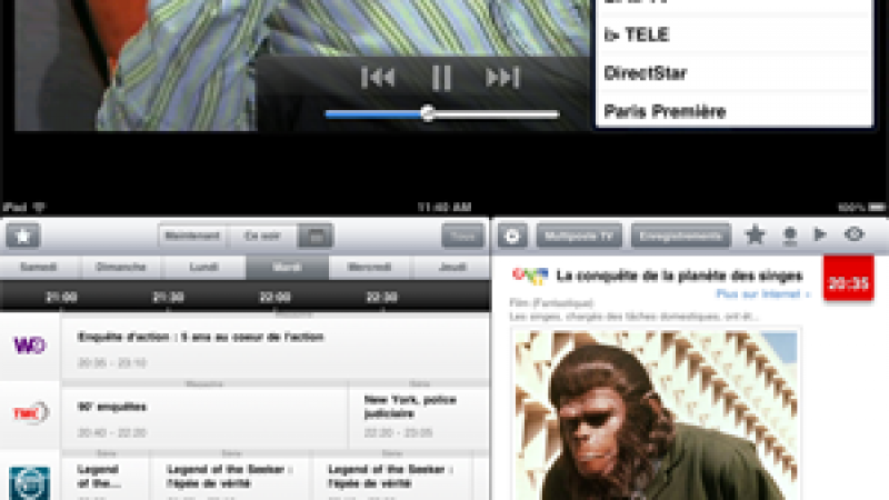 SurFreeboxTV : Mise à jour 4.0 de l'application iPad