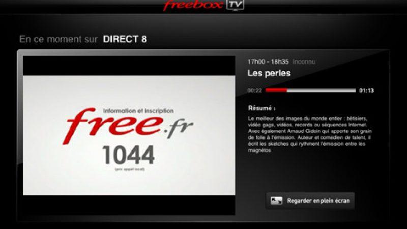 L'application Freebox TV pour iPad est disponible