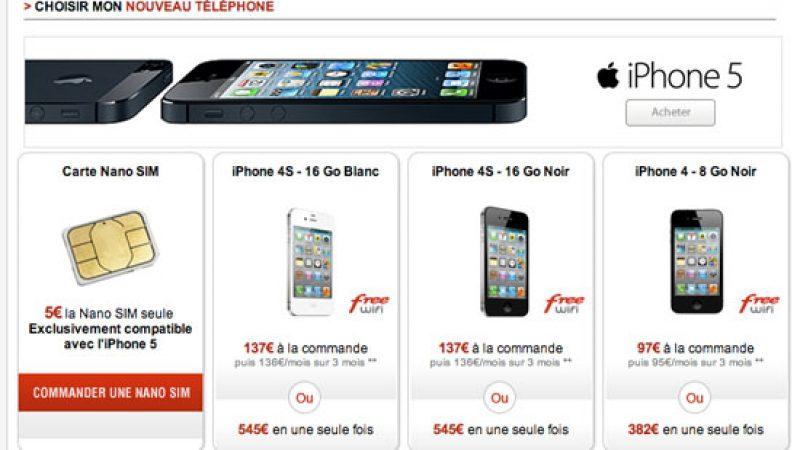 L'iPhone 4 fait un retour surprise dans la boutique en ligne Free Mobile