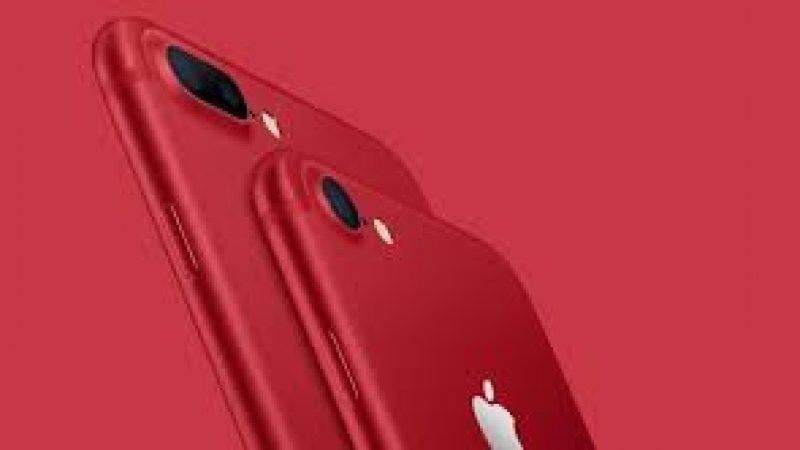 Les iPhone 7 et 7 Plus RED Edition sont arrivés chez Free Mobile