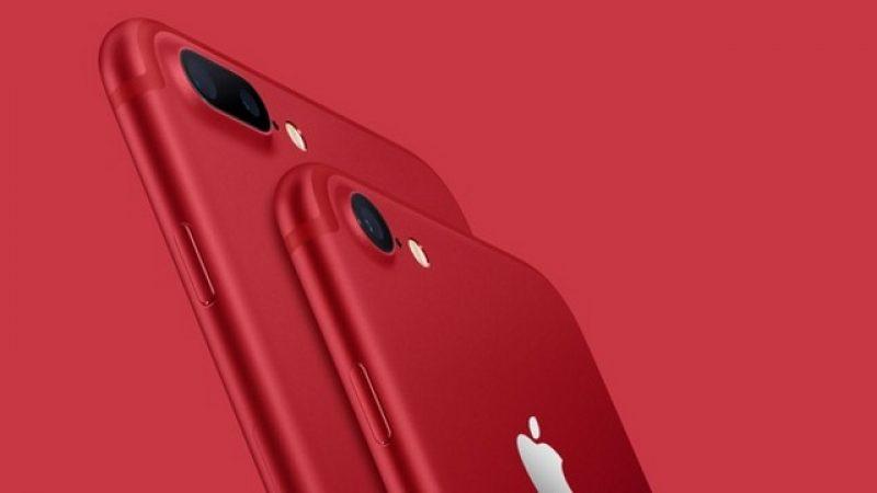 iPhone 8 : un débarquement imminent pour sa version rouge