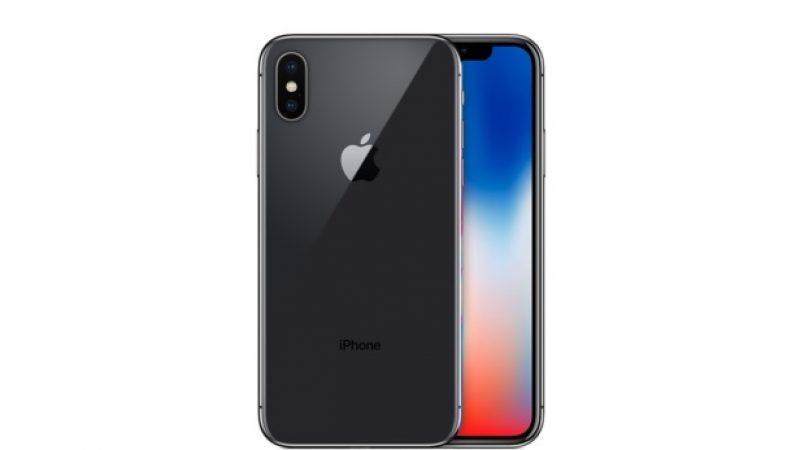Apple cherche à minimiser l'encoche de son iPhone X