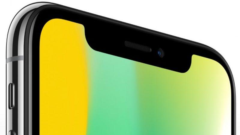 Apple abandonnerait l'encoche sur les iPhone d'ici l'année prochaine