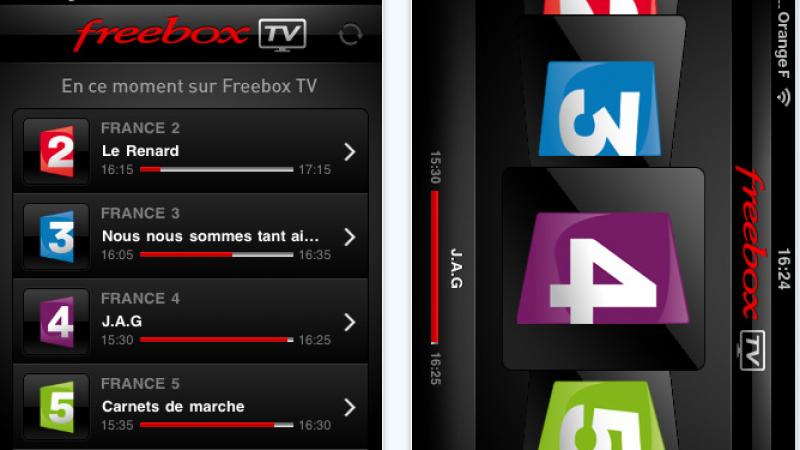 Nouvelle version de FreeboxTV pour iPhone avec Retina display compatible