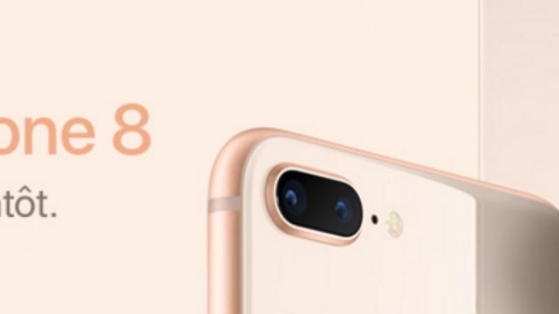 Comparatif du prix des iPhone 8 et 8Plus: Free et SFR proposent les tarifs les plus bas
