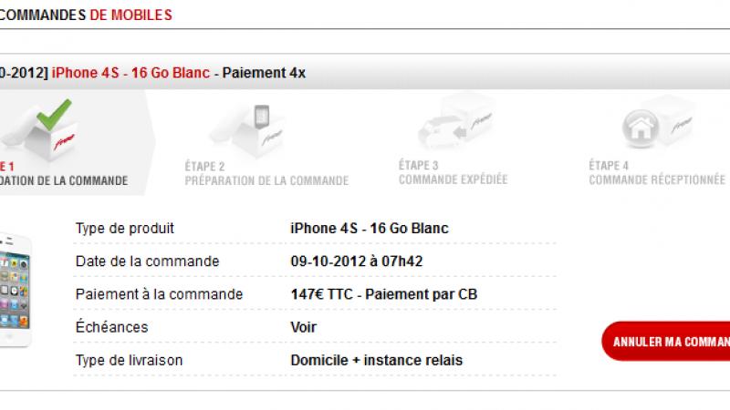 Free Mobile : l'iPhone 4S de retour parmi les smartphones proposés à la location