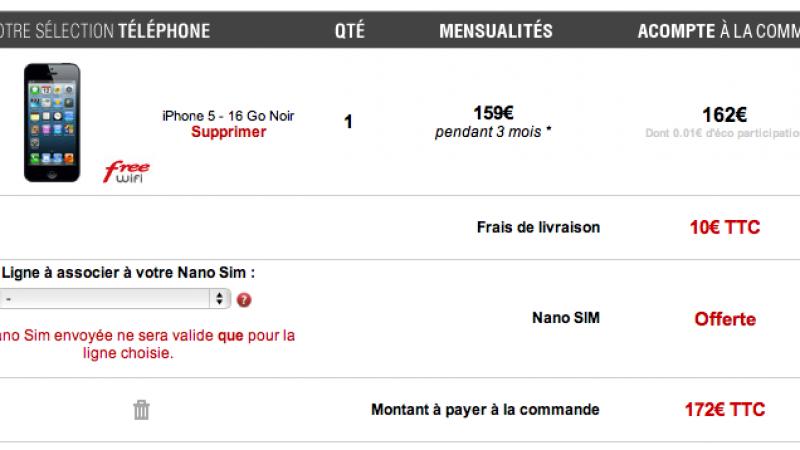 [MAJ] iPhone 5 disponible en pré-commande sur FreeMobile