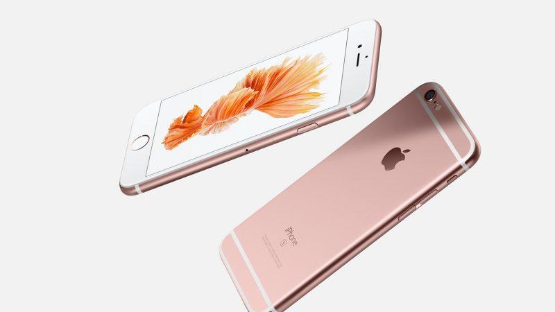 Apple remplace les batteries défaillantes des iPhone 6s