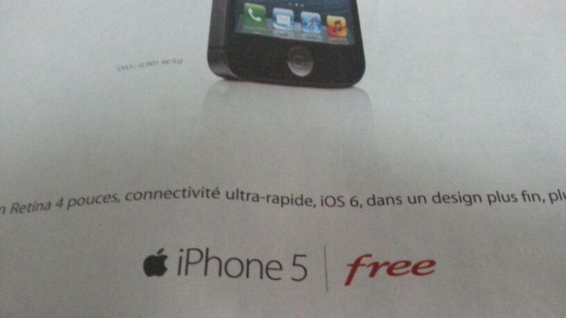 Free obligé de financer la diffusion des pubs iPhone 5… qu'il ne peut pas vendre