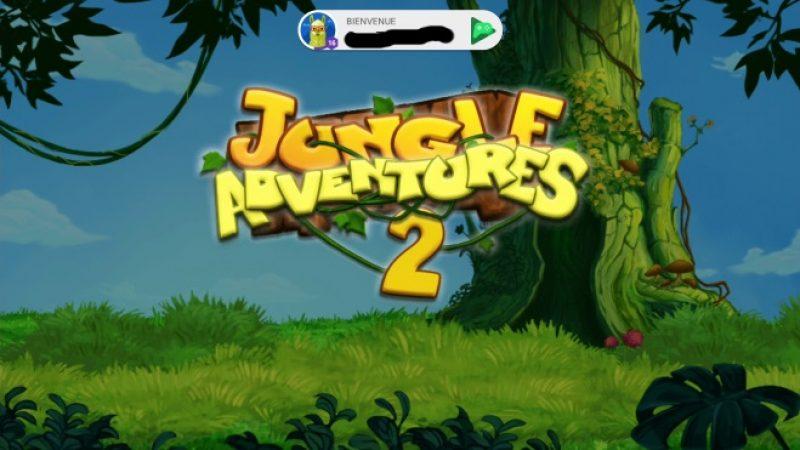 Univers Freebox teste pour vous sur la Freebox Mini 4K : Jungle adventure 2 , le jeu de plate-forme du Néandertal