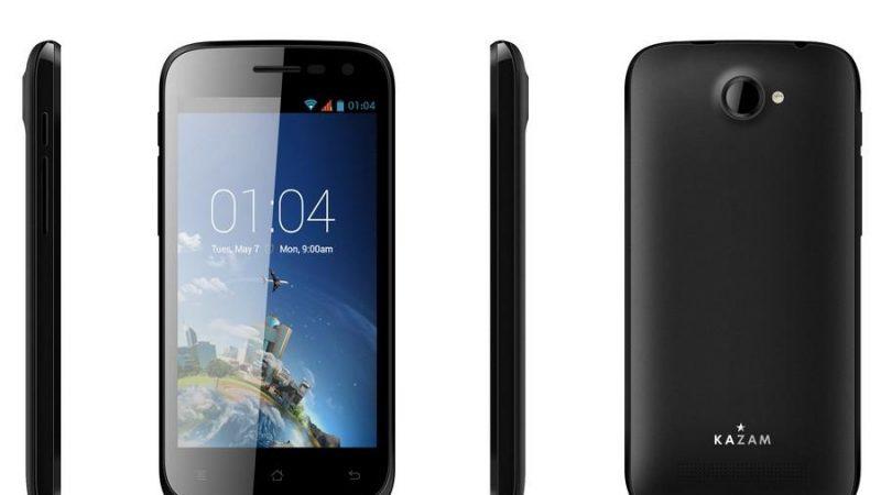 Kazam communique sur son partenariat avec Free Mobile et son Smartphone à 79€