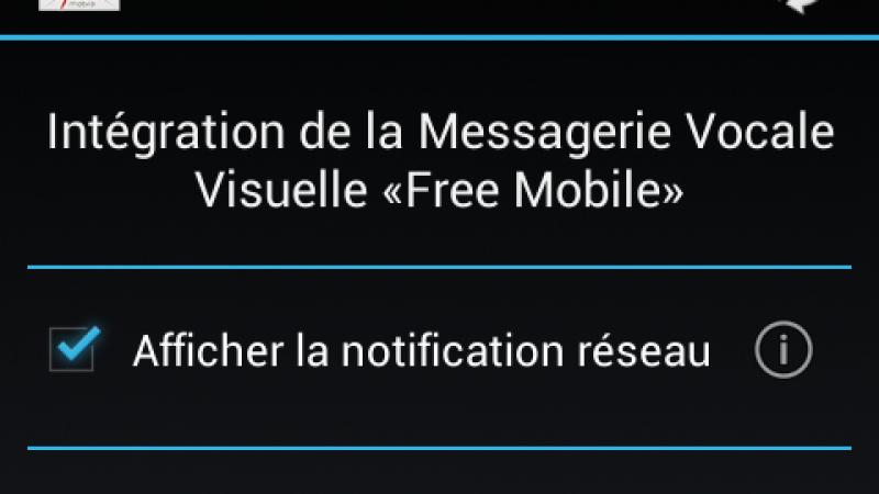 Mise à jour de kFreeMobile, la messagerie vocale visuelle intégrée