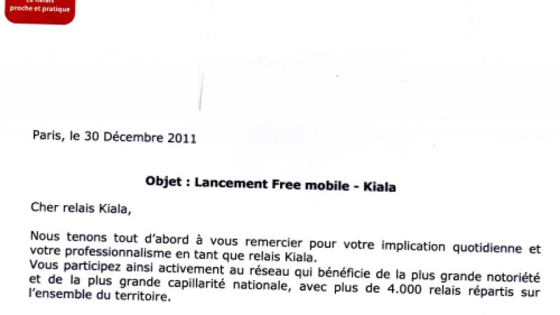 Free Mobile proposera des livraisons en 24h de mobiles dans les relais Kiala