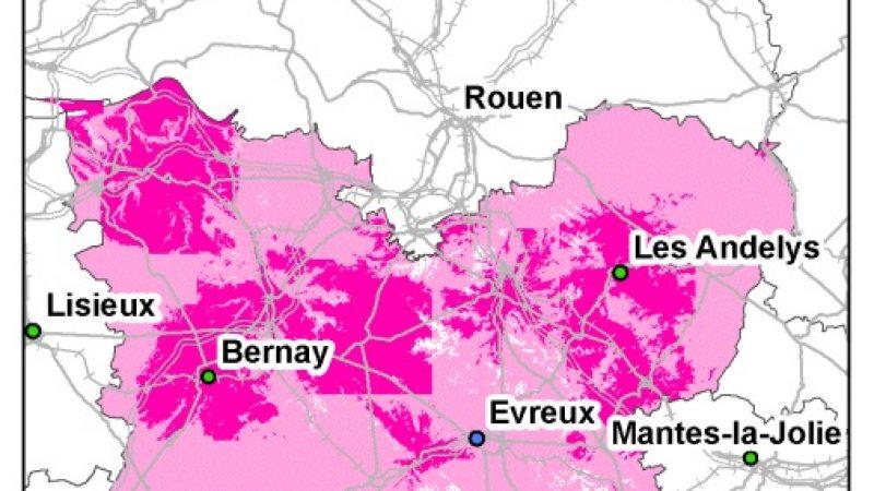 Free Mobile : La Haute-Normandie mieux couverte que la Basse-Normandie