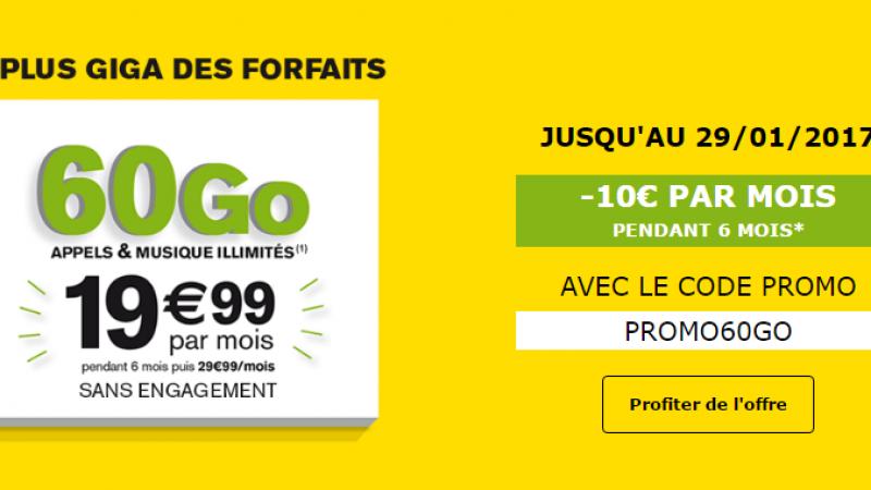 La Poste Mobile rivalise avec Free pendant 6 mois avec son forfait 60 Go à 19,99€