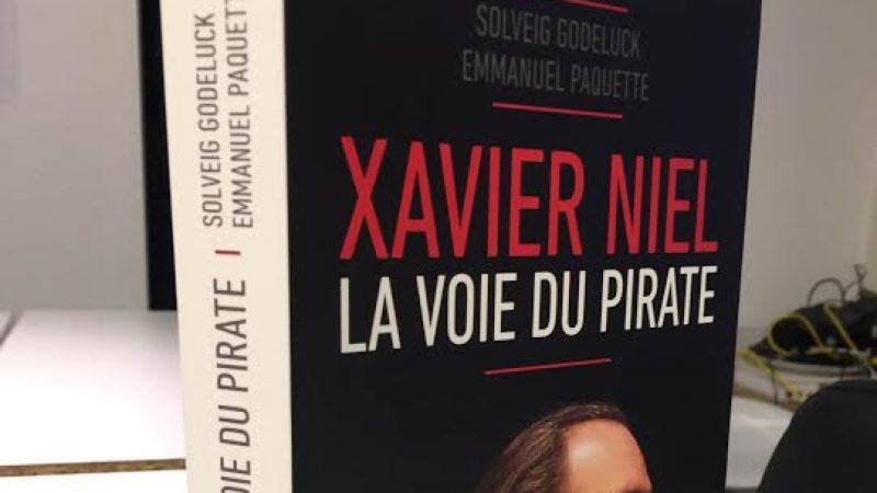 Le livre « Xavier Niel, la voie du pirate » est maintenant disponible