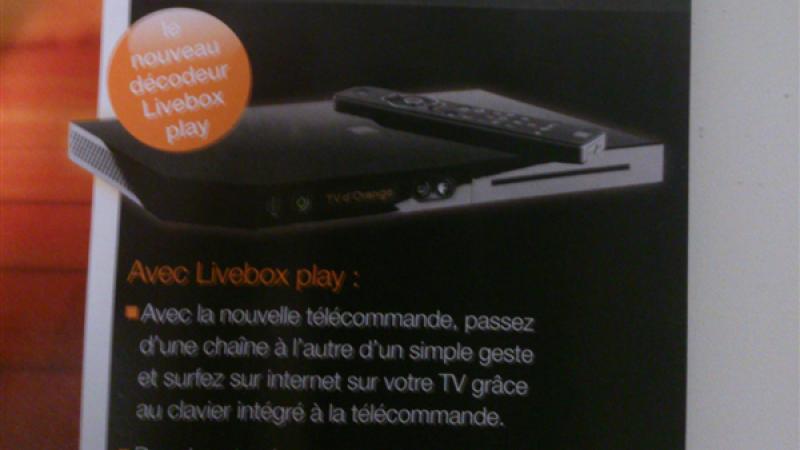 Après le modem, découvrez le boitier TV de la nouvelle Livebox et d'autres fonctions