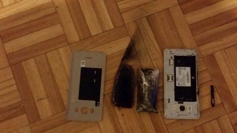 Un Samsung J5 explose à Pau