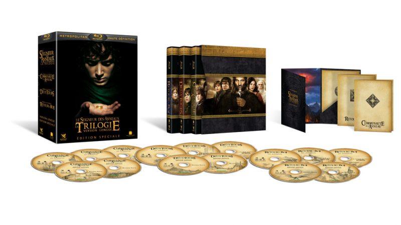 Free jeux concours : Gagnez le coffret Blu Ray du Seigneur des anneaux