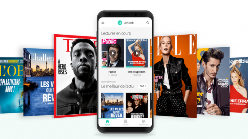 Abonnés Freebox Delta: L'application LeKiosk se met à jour sur Android
