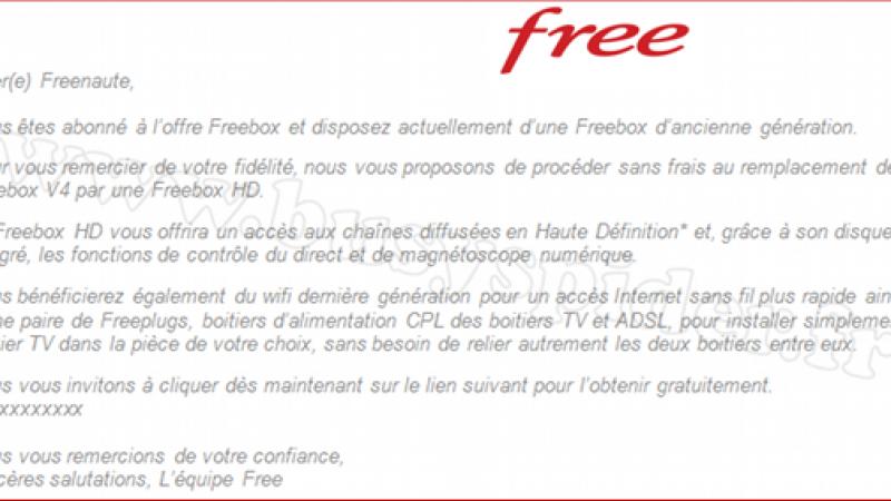 Abonnés Freebox V4 : passez à la V5 !