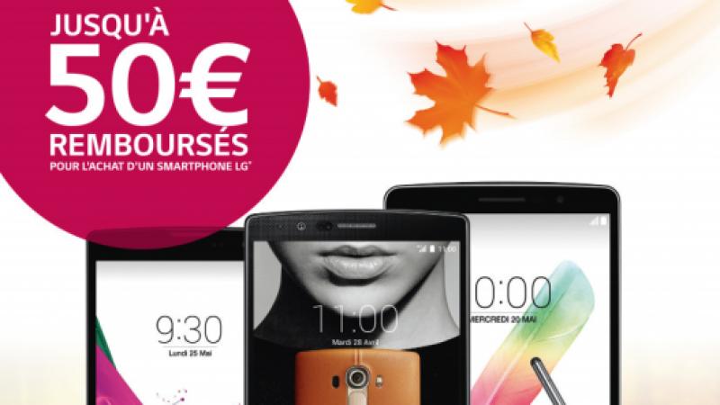 Free Mobile : une nouvelle offre de remboursement est disponible pour le LG G4