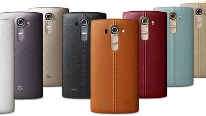 Le LG G4 se dévoile en images : écran quad HD et accesoires en cuir