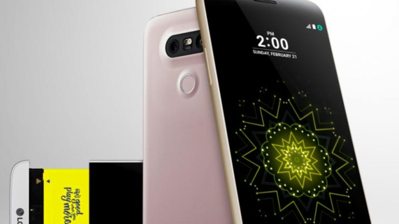 LG dévoile le LG G5, son premier smartphone modulaire
