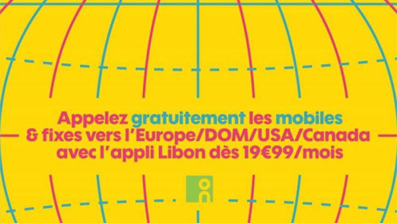 Sosh inclut les appels vers les mobiles en Europe, via l'application Libon