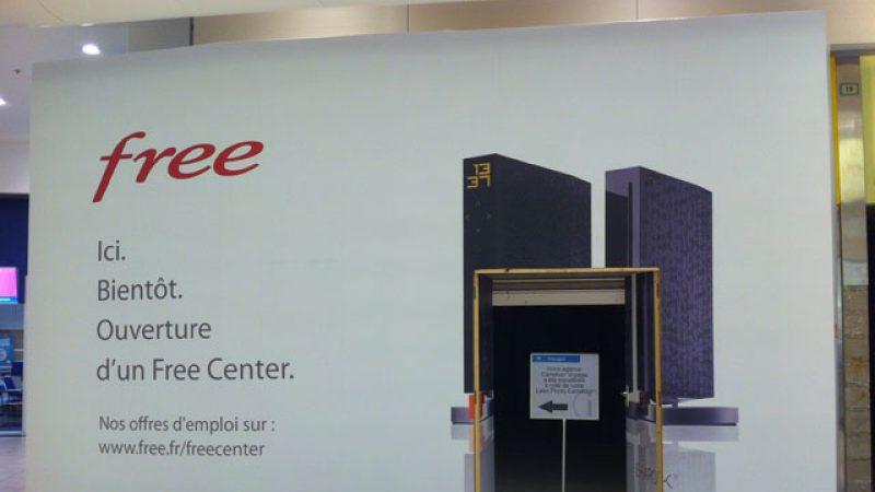 Free lance les recrutements pour son futur Free Center du centre commercial Carré Sénart