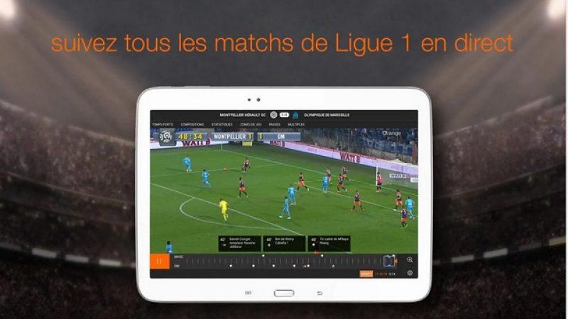 L'application Ligue 1 d'Orange n'est plus réservée aux abonnés Orange
