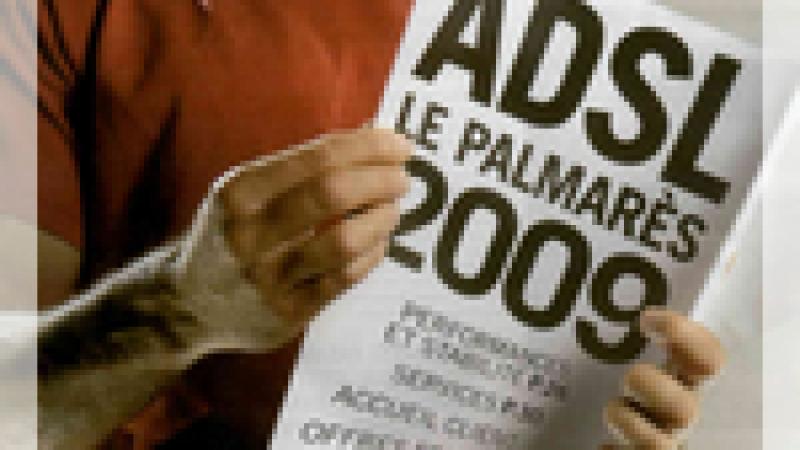 Le palmarès ADSL de l'année 2009