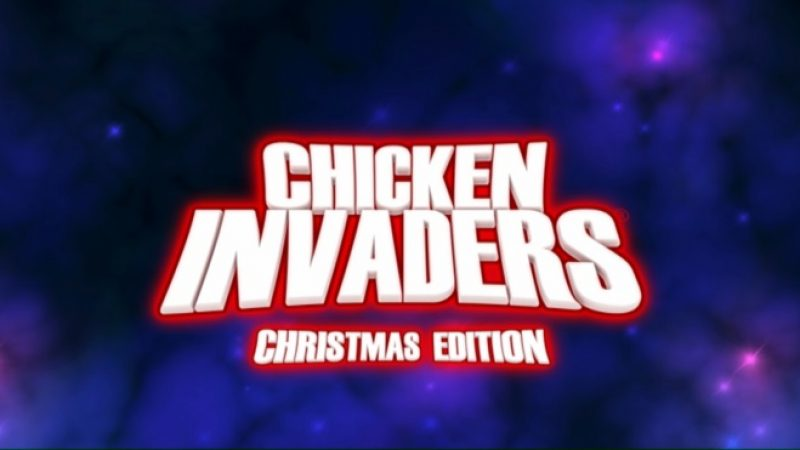 "Test de  Chicken Invaders 3 : Revenge of the Yolk ""Christmas edition"" actuellement en démo gratuite sur Freebox Révolution"