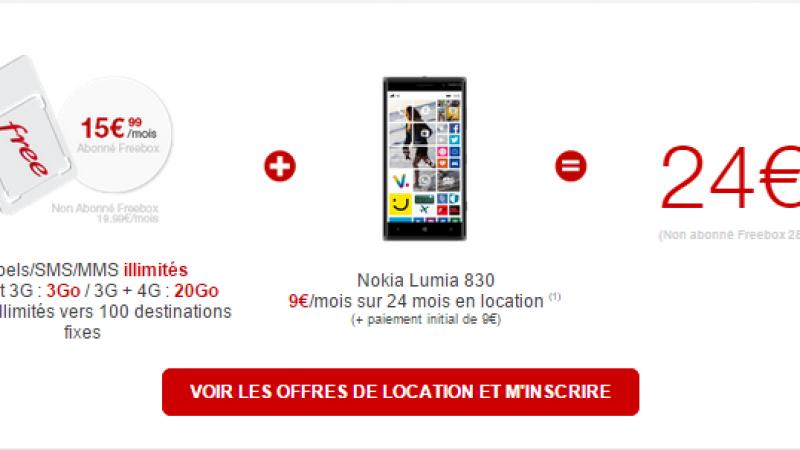 Le point sur les offres de location de Free Mobile