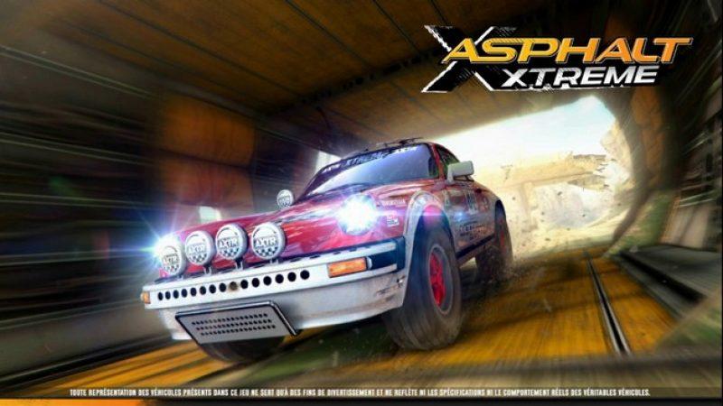Test Asphalt Xtreme Rally Racing sur Freebox mini 4K : un jeu de course plutôt sympa