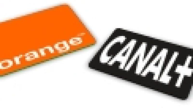 Orange se dresse face à Canal+