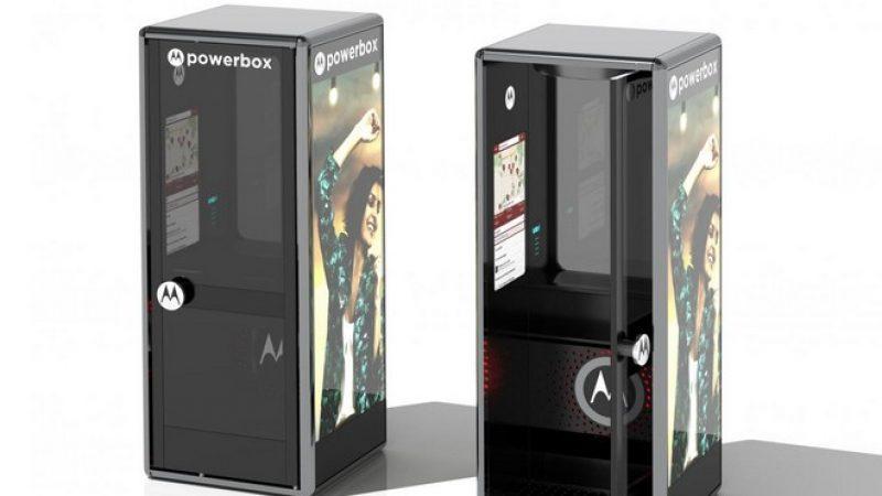 Les cabines téléphoniques de retour dans une version modernisée signée Motorola
