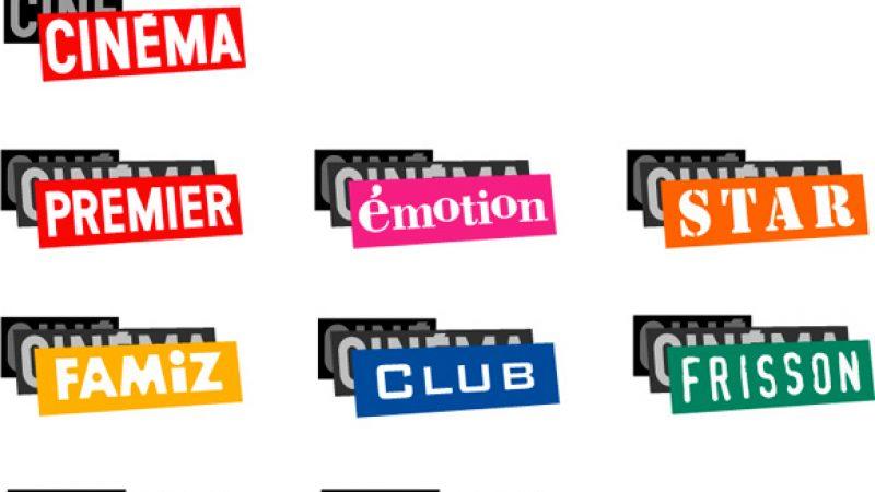 Nouveaux logos pour les chaînes Ciné Cinéma à la rentrée