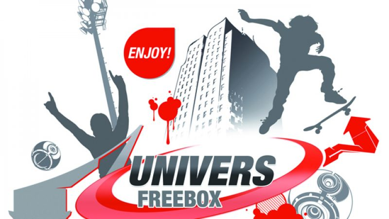 Mise à jour graphique en cours sur Univers Freebox