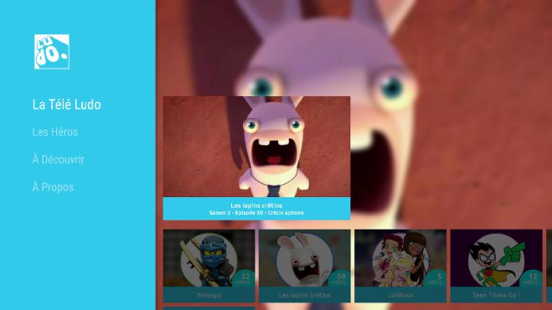 Avec Ludo, accédez gratuitement aux dessins animés France Télévisions sur votre Freebox Mini 4K