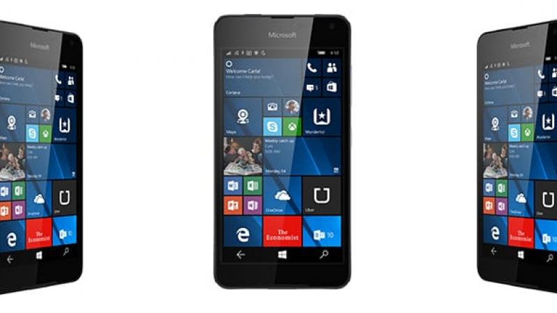Microsoft dévoile officiellement le Lumia 650 et annonce sa disponibilité en France.