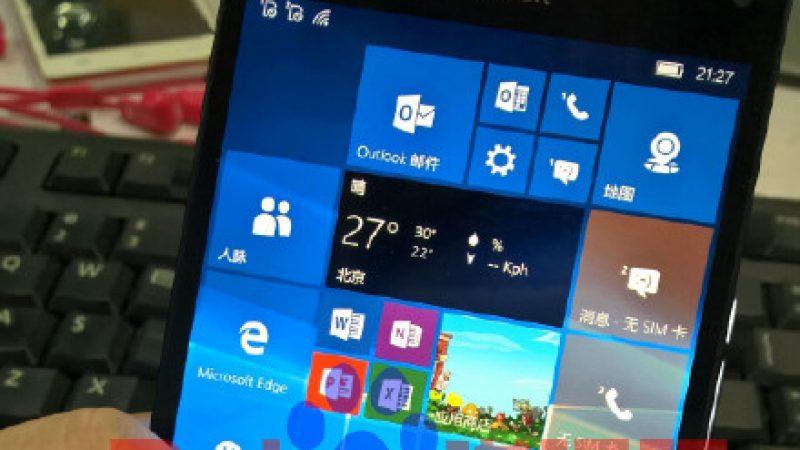 Le futur Lumia 950 de Microsoft est en fuite sur la toile