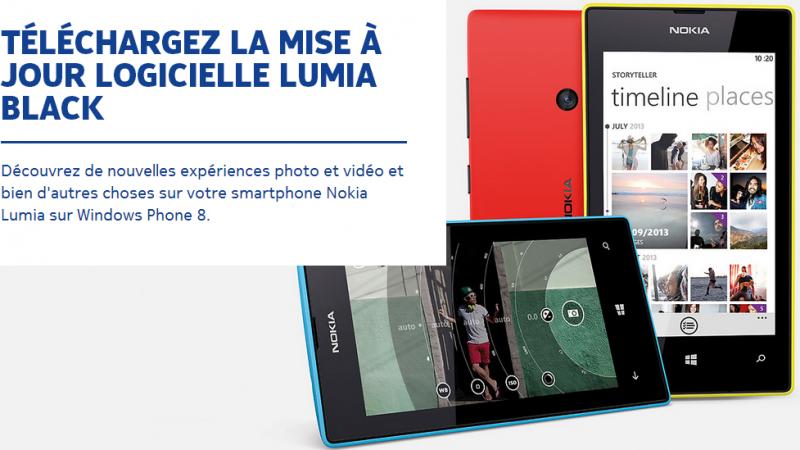 """Free mobile : la mise à jour logicielle """"Lumia Black"""" pour les Nokia Lumia 925  est disponible"""