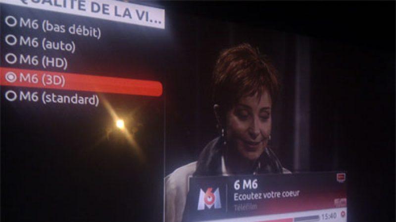 [MàJ] Freebox TV : Le mode vidéo 3D est arrivé sur M6
