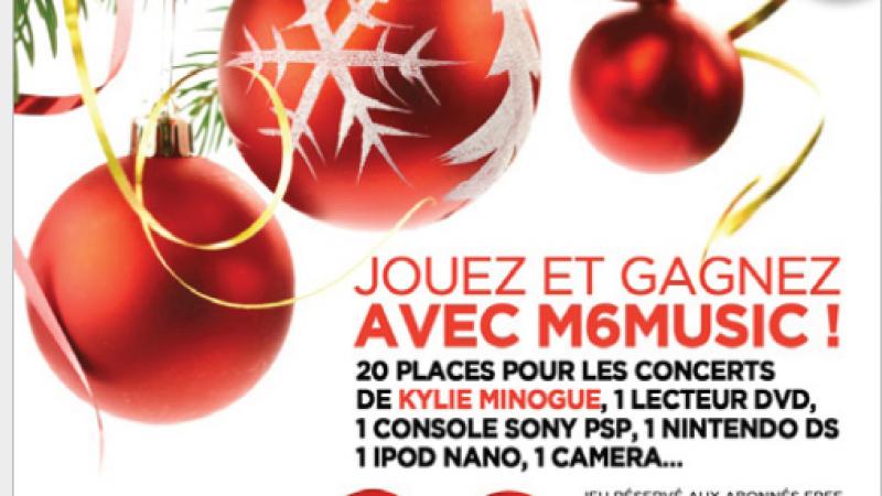 Concours M6 music et Free : gagnez 20 places du concert de Kylie Minogue