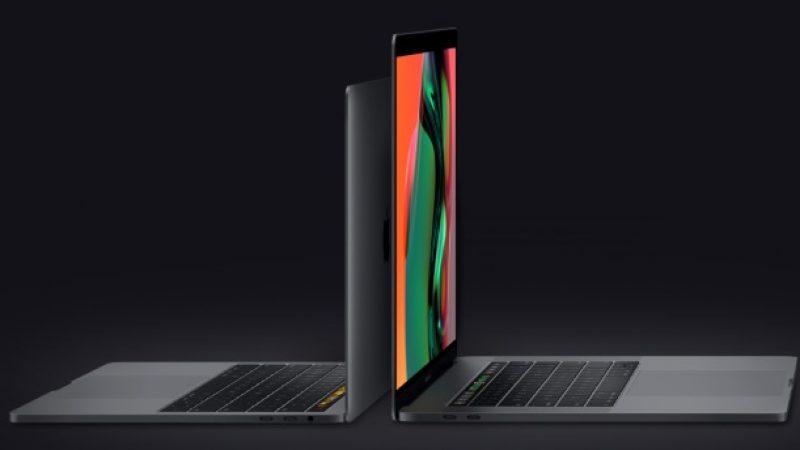 Apple lance ses nouveaux MacBook Pro de 13 et 15 pouces munis d'une Touch Bar