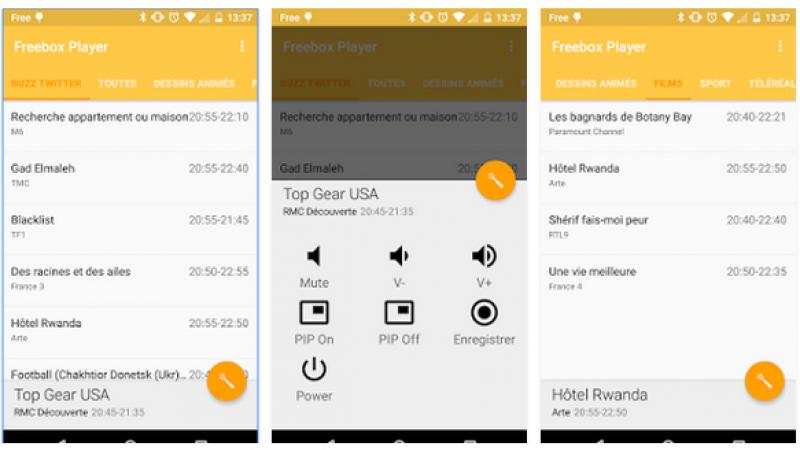 Magic Zapper, la télécommande magique pour la Freebox Révolution, débarque sur les terminaux Android