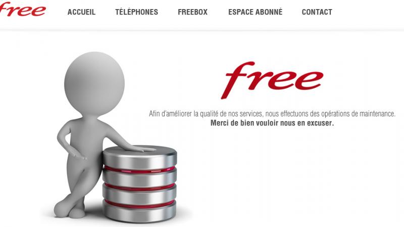 [MàJ] Free Mobile : site en maintenance, une nouveauté en perspective ?