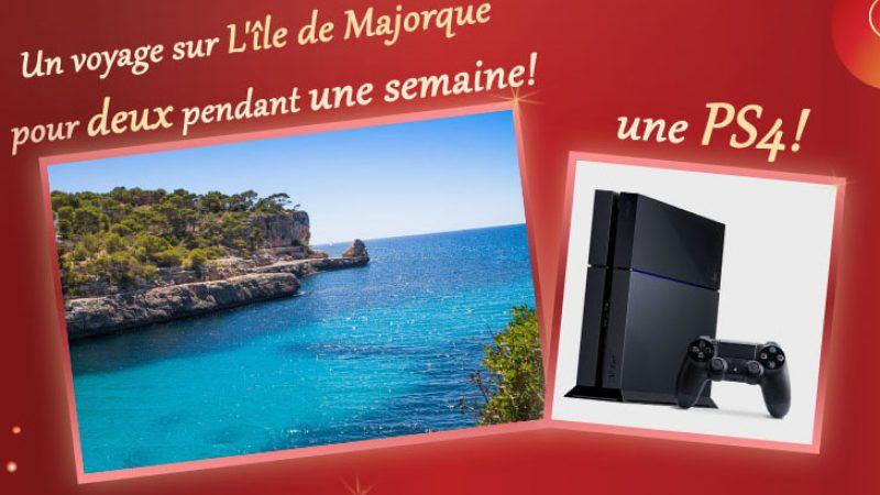 Nouveau concours sur le site de Free : un voyage et une PS4 à gagner