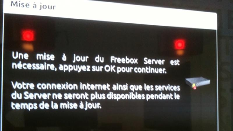 Nouvelle mise à jour du firmware Freebox Server 1.0.5